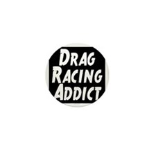 Drag Racing Addict Mini Button