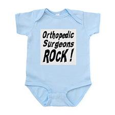 Orthopedic Surgeons Rock ! Infant Bodysuit