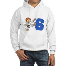 Martial Arts 6th Birthday Hoodie