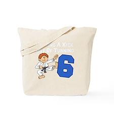 Martial Arts 6th Birthday Tote Bag