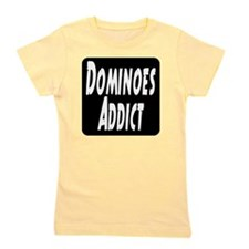 Dominoes Addict Girl's Tee