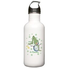 Snowman 2012 1st Chris Sports Water Bottle