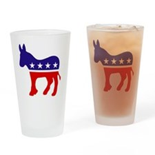 Democrat Party Donk... Drinking Glass