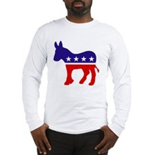 Democrat Party Donk... Long Sleeve T-Shirt
