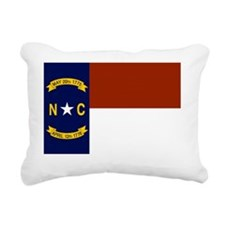 North Carolina United St Rectangular Canvas Pillow