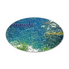 Bermuda 35x21 Oval Wall Decal