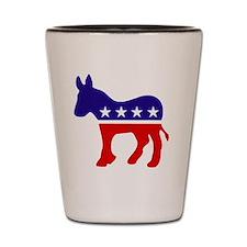 Democrat Party Donkey Shot Glass
