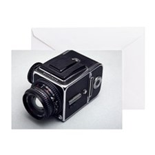 Medium format film camera Greeting Card