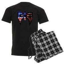 Warrior America Pajamas