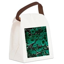Malachite Canvas Lunch Bag