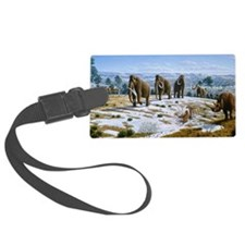 Mammals of the Pleistocene era Large Luggage Tag