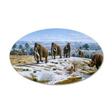 Mammals of the Pleistocene e Wall Decal