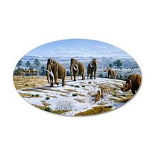 Mammals of the Pleistocene e Wall Decal