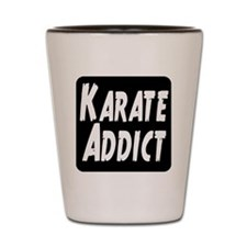 Karate Addict Shot Glass