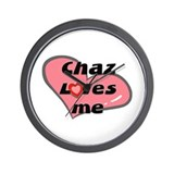 chaz loves me  Wall Clock