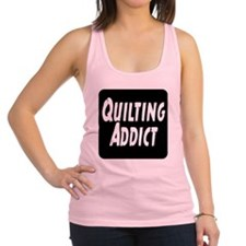 Quilting Addict Racerback Tank Top
