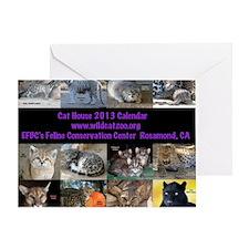 2013 Calendar Cover Greeting Card