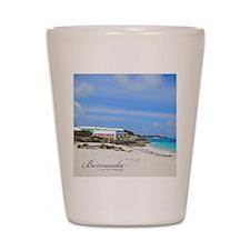 Bermuda/St Johns Beach Shot Glass