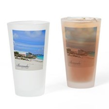 Bermuda/St Johns Beach Drinking Glass