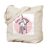 Sam Unicorn Tote Bag