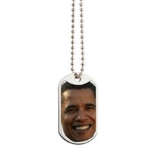 Obama Head Dog Tags