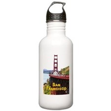 SF_5X7_GoldenGateBridg Water Bottle