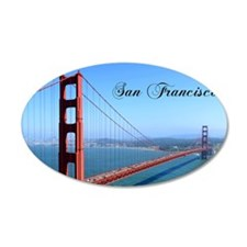 SF_10X8_GoldenGateBridge Wall Decal