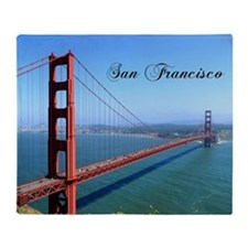 SF_10X8_GoldenGateBridge Throw Blanket