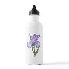 The Purple Iris Water Bottle