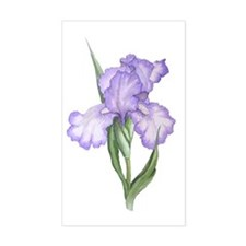 The Purple Iris Decal