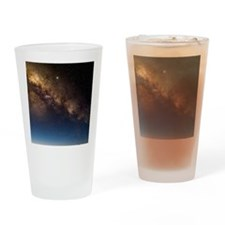 Milky way and observatories, Hawaii Drinking Glass