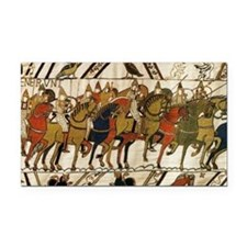 Bayeux Tapestry Rectangle Car Magnet