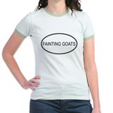 Oval Design: FAINTING GOATS T