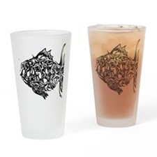 phish-graffiti-black Drinking Glass