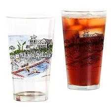 t- shirt Beach Club pool Drinking Glass