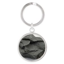 Sample of shale Round Keychain