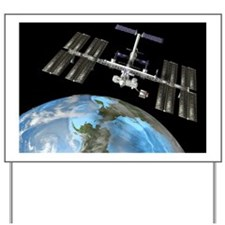 International Space Station Yard Sign