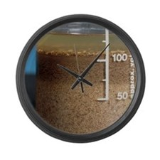 Soil analysis Large Wall Clock