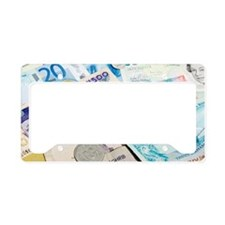 International currency License Plate Holder