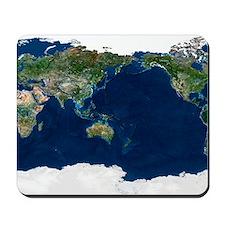 Whole Earth, satellite image Mousepad