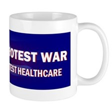 Liberal Protest War Coffee Mug