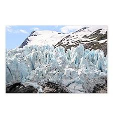 Portage Glacier, Alaska  Postcards (Package of 8)
