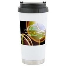 Interstellar spaceship Ceramic Travel Mug