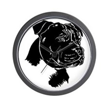 Staffordshire Bull Terrier Wall Clock