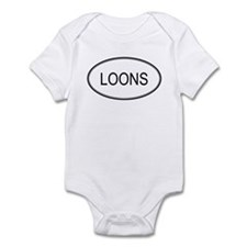Oval Design: LOONS Infant Bodysuit