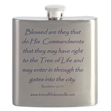 Tree of Life Knoxville Verse Flask