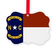 North Carolina United States Flag Ornament