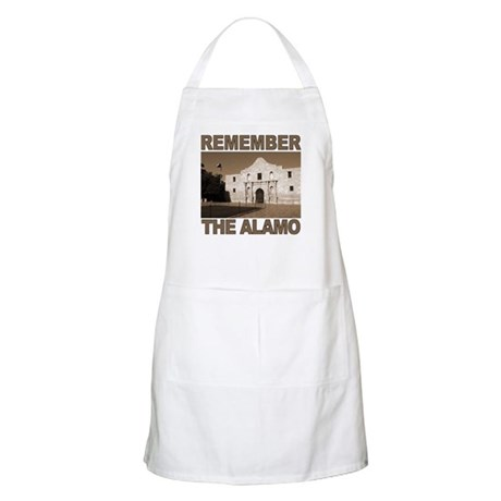 Remember the Alamo BBQ Apron