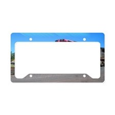 Mighty Trains Calendar License Plate Holder