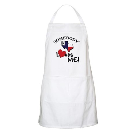 Someone in Texas Loves Me BBQ Apron